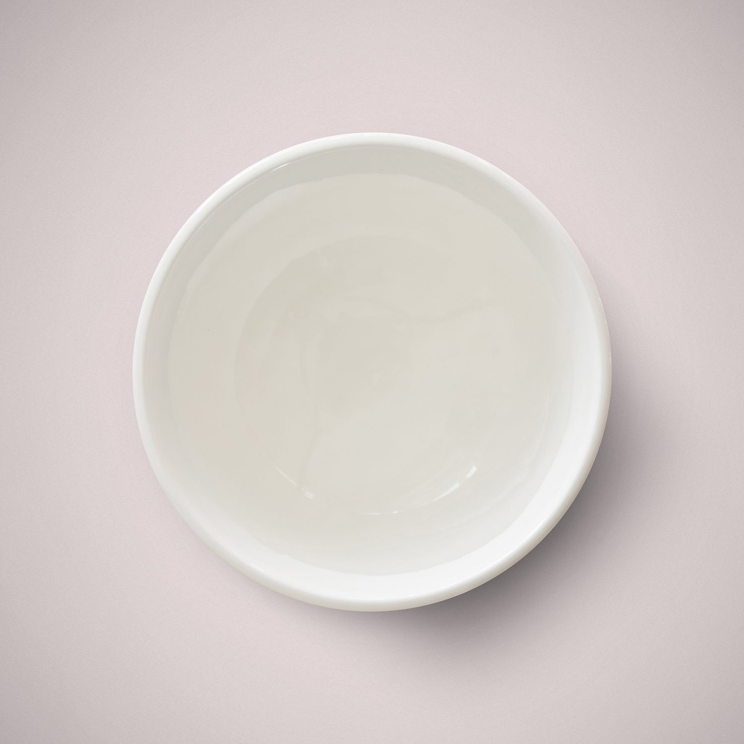 A small bowl of clear melt and pour soap base from H Foster.